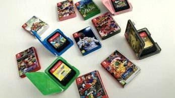 Un fan crea una serie de mini cajas para los cartuchos de Switch