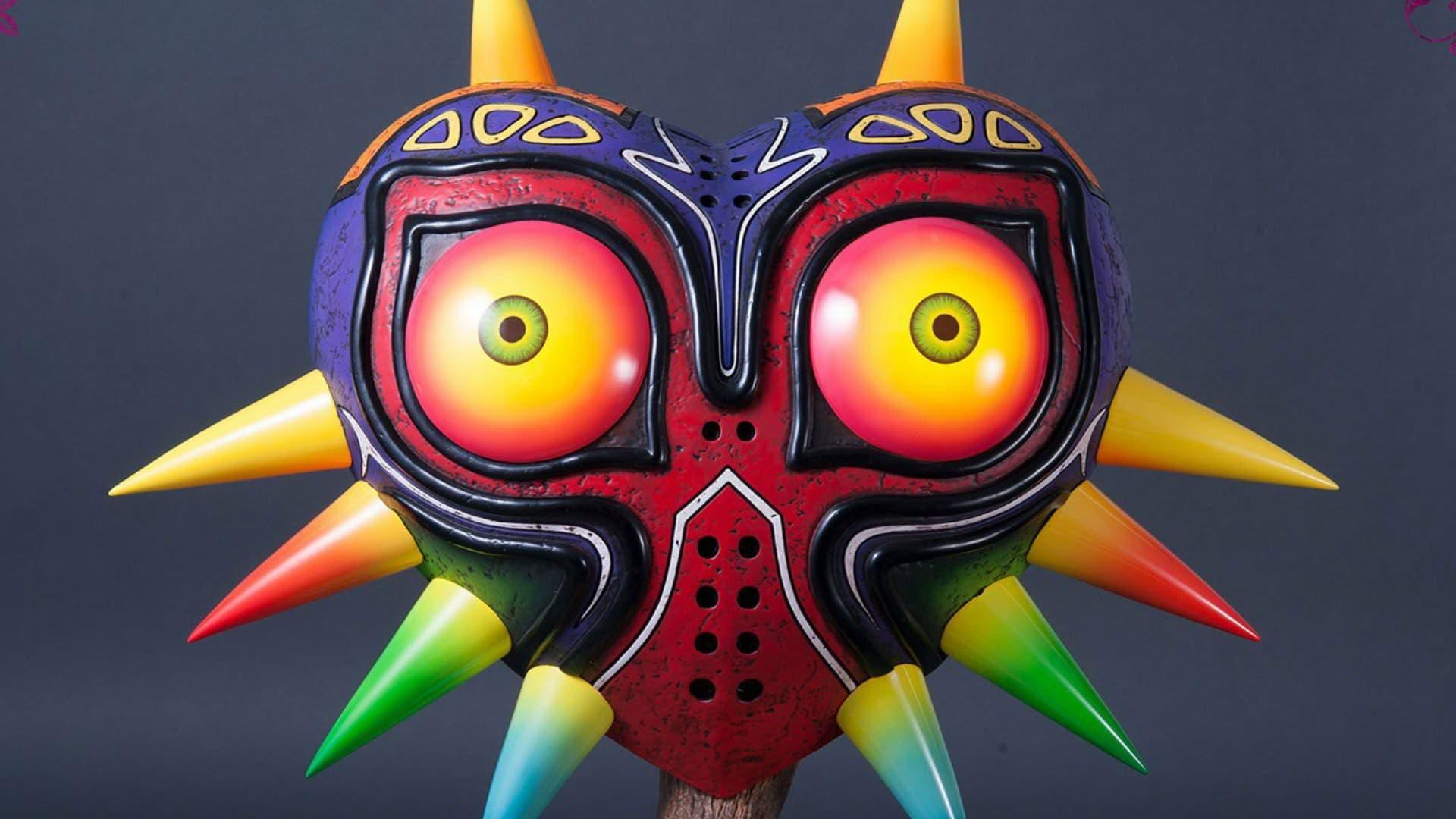Vídeo documental de la producción de las figuras de tamaño real de Majora's Mask