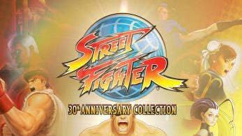 Street Fighter 30th Anniversary Collection usa una imagen de PS4 en su ficha para la eShop