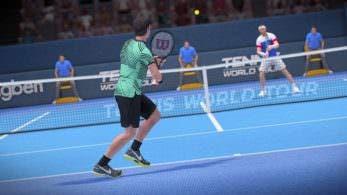 Tennis World Tour se lanza el 22 de mayo