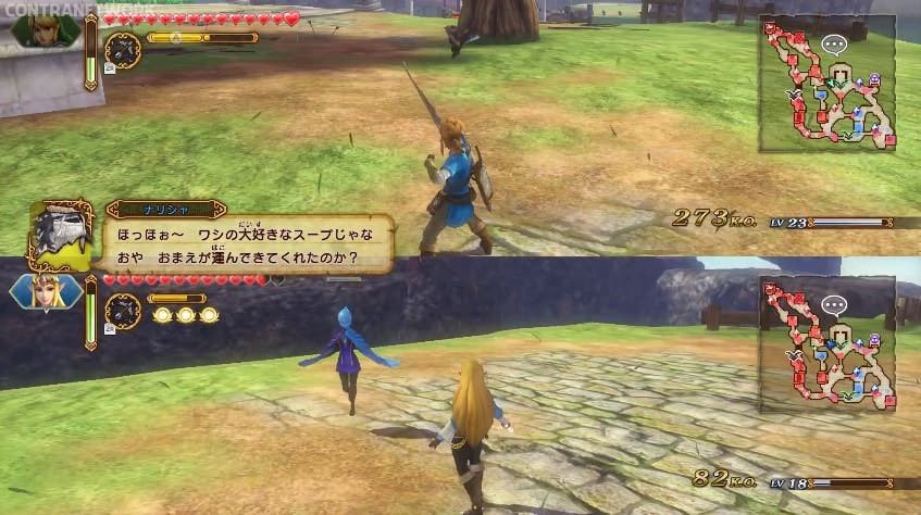 [Act.] Gameplay del modo multijugador cooperativo de Hyrule Warriors: Definitive Edition