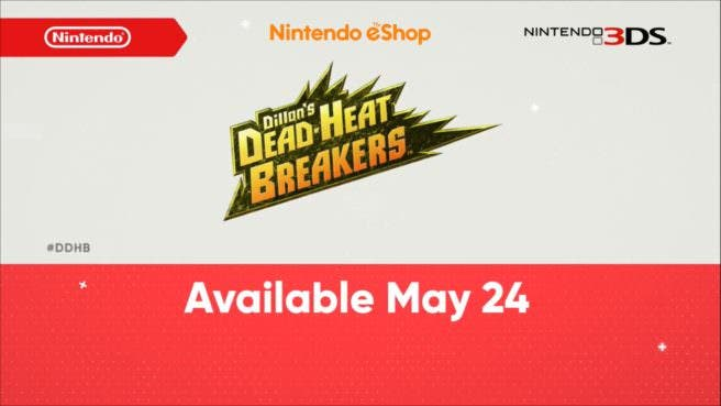 [Act.] Anunciado Dillon's Dead-Heat Breakers para Nintendo 3DS
