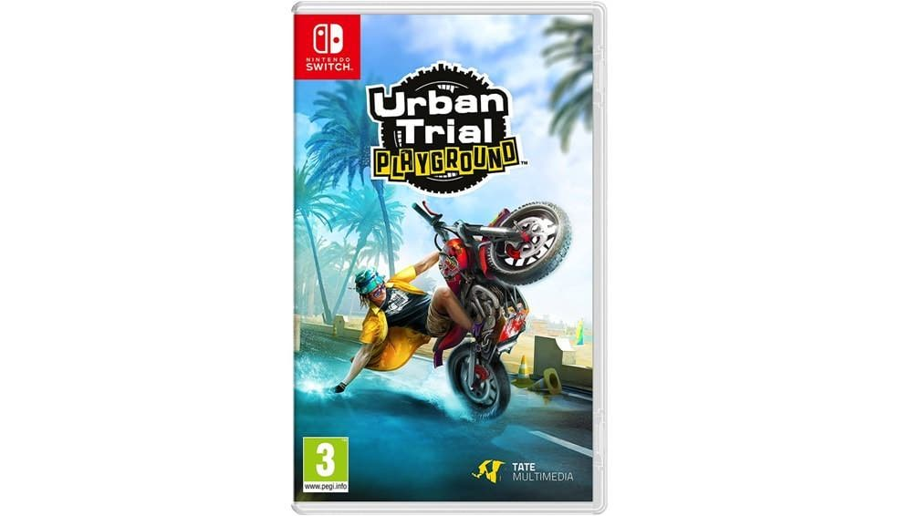 [Act.] Urban Trial Playground para Switch será lanzado en formato físico en Europa