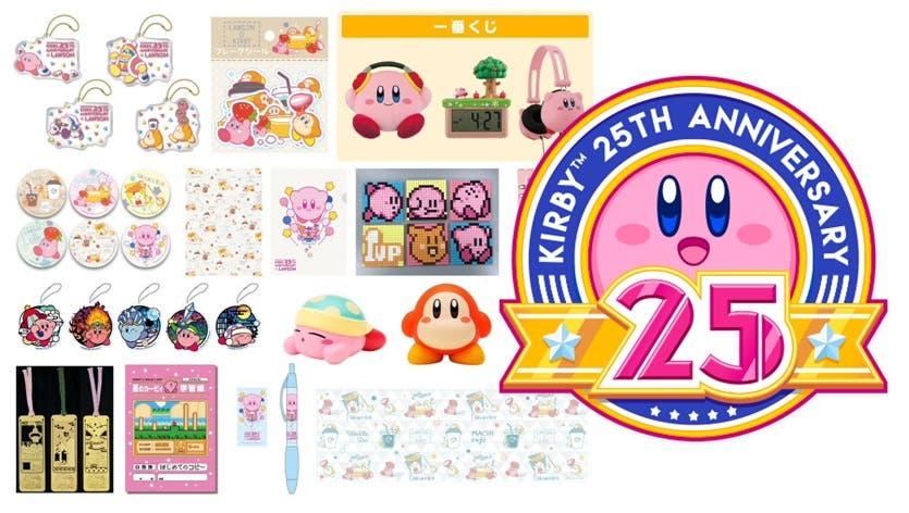 Echa un vistazo a estos nuevos productos del 25º aniversario de Kirby