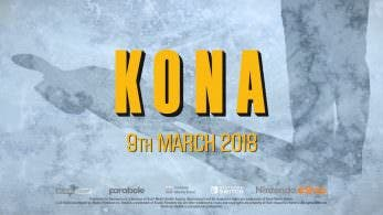 [Act.] Tráiler de lanzamiento y gameplay de Kona, ya disponible en Nintendo Switch