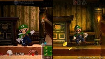 Comparativa en vídeo de Luigi's Mansion: GameCube vs. 3DS