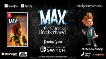 La versión física de Max: The Curse of Brotherhood para Switch se lanza el 24 de abril