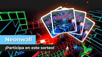 ¡Sorteamos 4 copias de Neonwall para Nintendo Switch en YouTube!