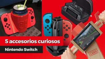 [Vídeo] 5 accesorios curiosos para Nintendo Switch