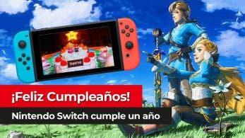 [Vídeo] Un repaso a la trayectoria de Nintendo Switch en su primer gran año