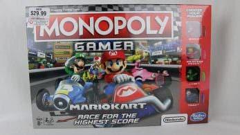 Echa un vistazo a este unboxing del Monopoly Gamer: Mario Kart Edition