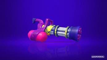 [Act.] La Tintralladora ligera B es el arma que recibirá esta semana Splatoon 2
