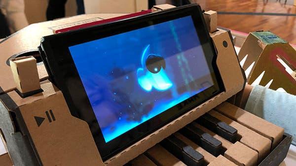 El Piano Toy-Con de Nintendo Labo se puede usar para crear peces únicos en el juego de pesca