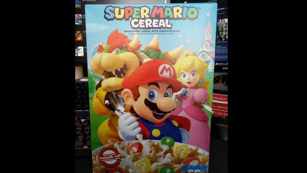 Super Mario Cereal ha sido repuesto, aunque sin función amiibo