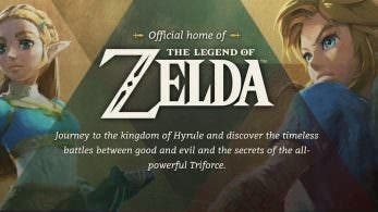 Nintendo of America actualiza su web oficial de The Legend of Zelda