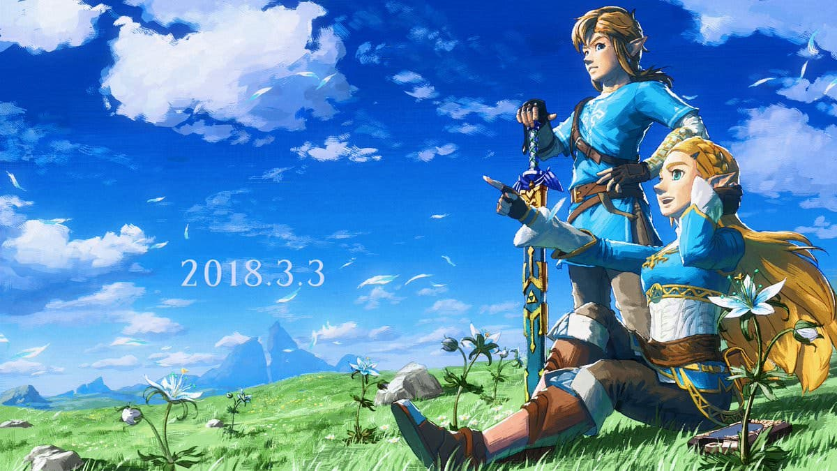 [Act.] Nintendo celebra el aniversario de Zelda: Breath of the Wild con un nuevo arte