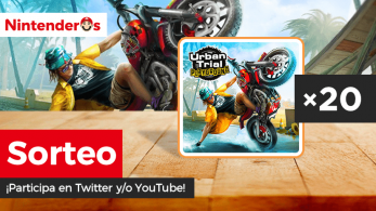 ¡Sorteamos 20 copias digitales de Urban Trial Playground para Switch en Twitter y YouTube!