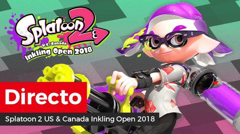 [Act.] Sigue aquí las finales del Splatoon 2 US & Canada Inkling Open 2018