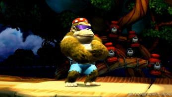 Vídeo: Escenas contra jefes de Donkey Kong Country: Tropical Freeze para Switch protagonizadas por Funky Kong
