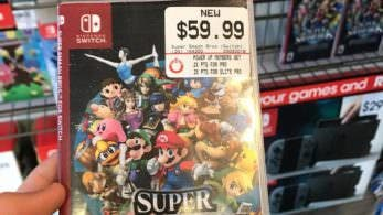 GameStop está usando este otro fan-art para promocionar Super Smash Bros. para Nintendo Switch