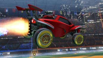 Rocket League recibe objetos de WWE este fin de semana