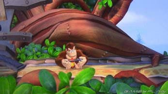 [Act.] Donkey Kong Country: Tropical Freeze para Switch nos muestra a DK jugando con la consola híbrida