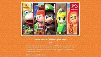 Algo extraño está pasando en el sitio web oficial de Animal Crossing