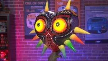 Echa un vistazo al unboxing de esta réplica de tamaño real de la Máscara de Majora