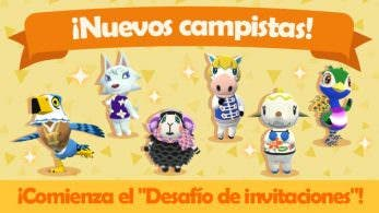 Animal Crossing: Pocket Camp recibe nuevos campistas