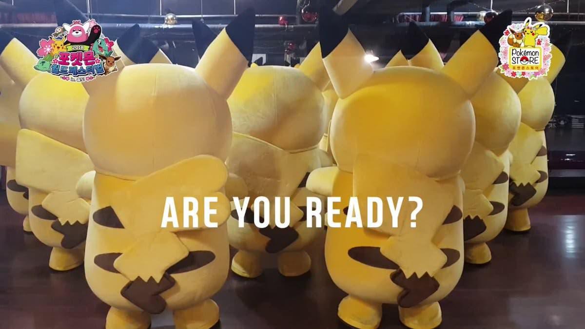 The Pokémon Company prepara la apertura de una tienda en Corea del Sur con este divertido vídeo