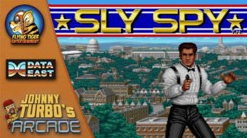 [Act.] Johnny Turbo's Arcade: Sly Spy de Data East se estrena en Switch la próxima semana