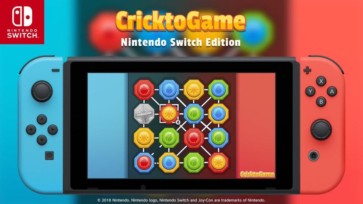 CricktoGame: Nintendo Switch Edition se estrena el 3 de noviembre