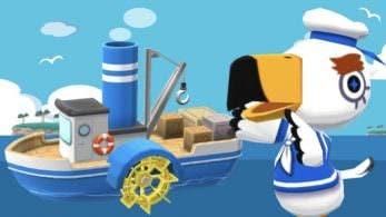 Gulliver ya ha llegado a Animal Crossing: Pocket Camp