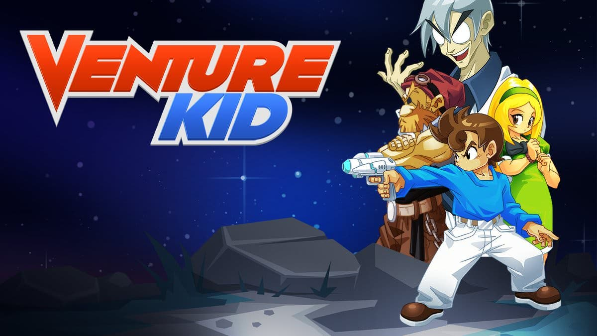 [Act.] Venture Kid confirma su lanzamiento en Nintendo Switch