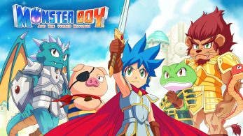 Ya está disponible la versión 1.0.4 de Monster Boy and the Cursed Kingdom