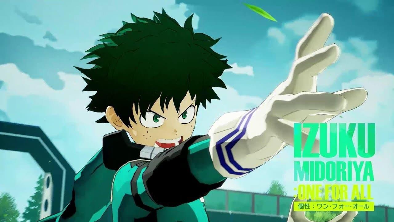 Vídeo promocional de My Hero Academia: One's Justice