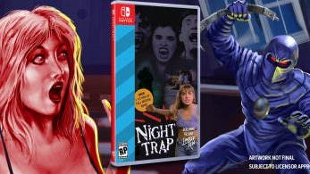 Night Trap: 25th Anniversary Edition confirma su llegada a Nintendo Switch