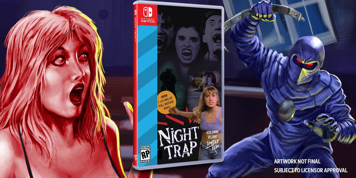 [Act.] Night Trap: 25th Anniversary Edition confirma su llegada a Nintendo Switch