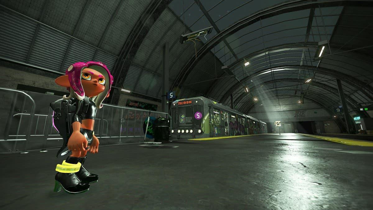 [Act.] Nintendo nos muestra algunos de los curiosos pasajeros del metro de la Octo Expansion de Splatoon 2