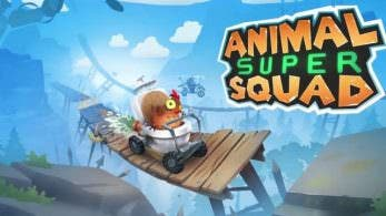 Tráiler de lanzamiento de Animal Super Squad en Switch