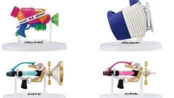 Bandai anuncia la tercera oleada de réplicas en miniatura de las armas de Splatoon 2