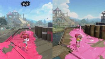 Comparativa en vídeo de Campamento Arowana: Splatoon 2 vs. Splatoon