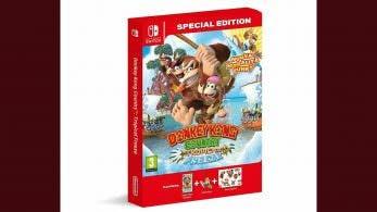 Amazon Italia lista una edición especial de Donkey Kong Country: Tropical Freeze para Nintendo Switch