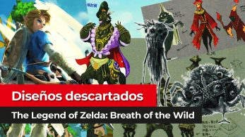 [Vídeo] Diseños descartados de The Legend of Zelda: Breath of the Wild