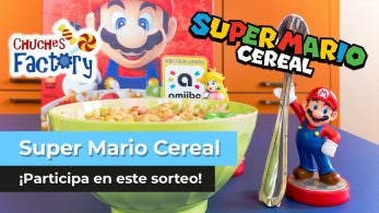 ¡Sorteamos una caja de Super Mario Cereal en YouTube!