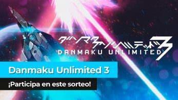 ¡Sorteamos 2 copias de Danmaku Unlimited 3 para Nintendo Switch en YouTube!