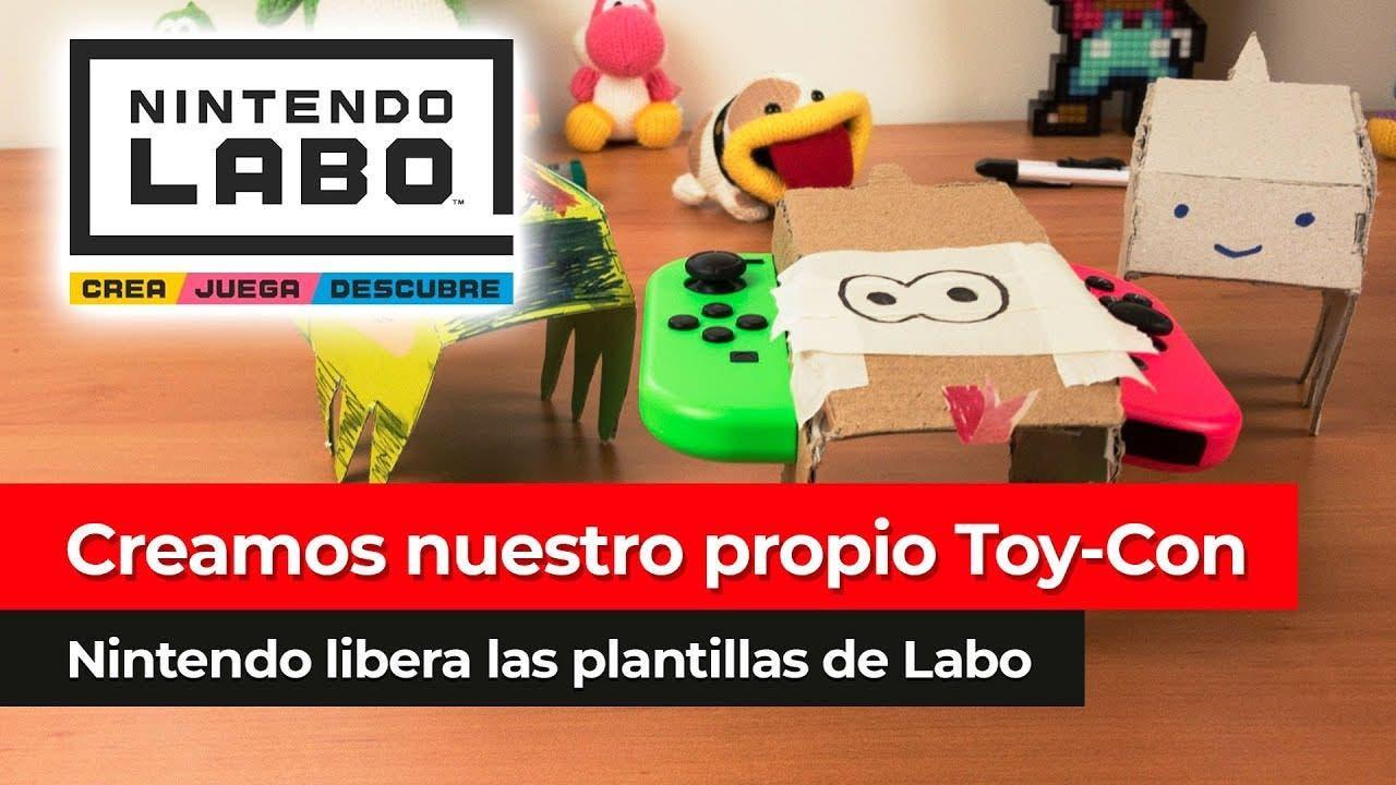 [Vídeo] Creamos nuestro propio Toy-Con sin Nintendo Labo con las plantillas online