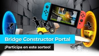 ¡Sorteamos una copia de Bridge Constructor Portal para Nintendo Switch en YouTube!