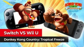 [Vídeo] Comparación técnica de Donkey Kong Country: Tropical Freeze en Switch y Wii U