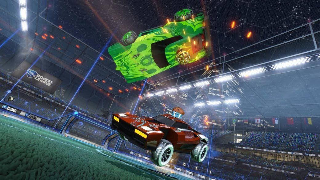 Los jugadores de Rocket League en Nintendo Switch ya pueden ganar Fan Rewards